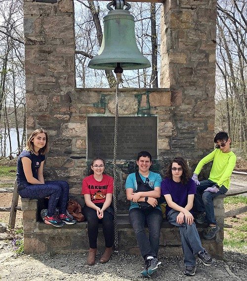 Youth Group at Camp Wightman