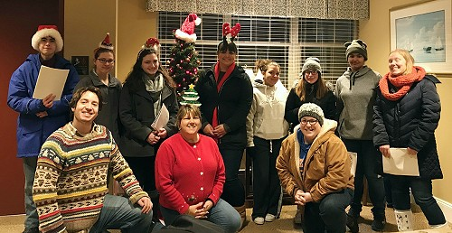 Youth Group Caroling